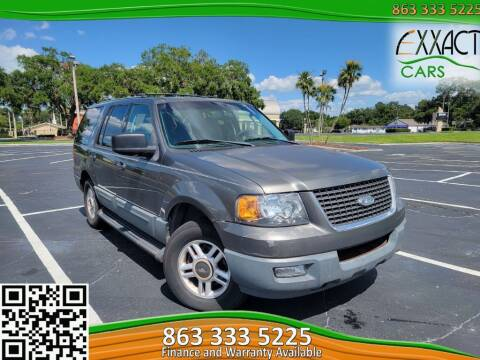 2003 Ford Expedition for sale at Exxact Cars in Lakeland FL