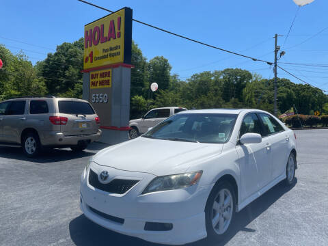 2008 Toyota Camry for sale at No Full Coverage Auto Sales in Austell GA