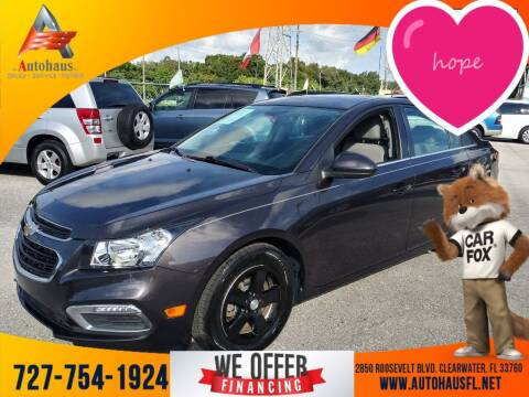 2016 Chevrolet Cruze Limited for sale at Das Autohaus Quality Used Cars in Clearwater FL