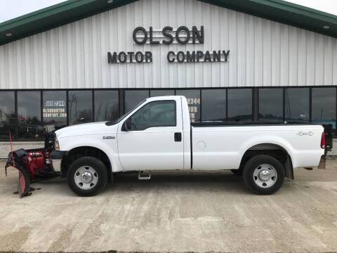 2006 Ford F-250 Super Duty for sale at Olson Motor Company in Morris MN