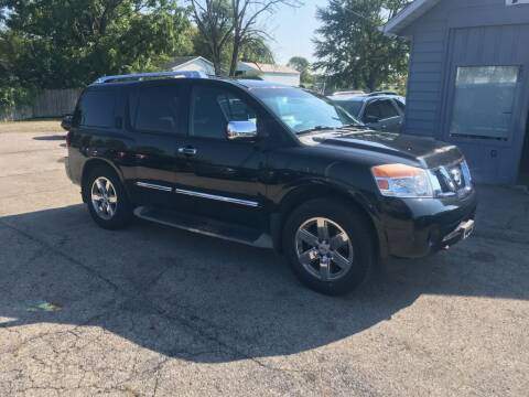 2010 Nissan Armada for sale at Stiener Automotive Group in Galloway OH