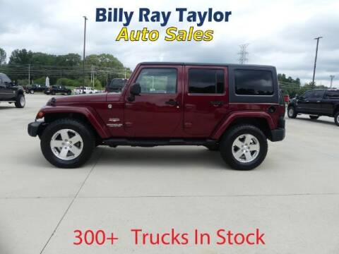 2008 Jeep Wrangler Unlimited for sale at Billy Ray Taylor Auto Sales in Cullman AL