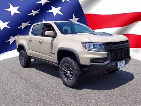 2021 Chevrolet Colorado for sale at Gentilini Motors in Woodbine NJ