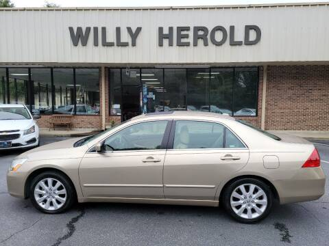 2007 Honda Accord for sale at Willy Herold Automotive in Columbus GA