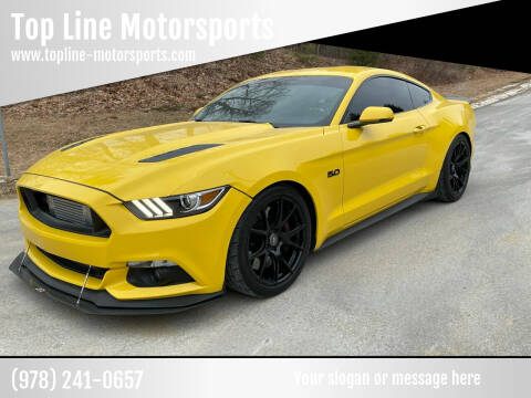 2015 Ford Mustang for sale at Top Line Motorsports in Derry NH