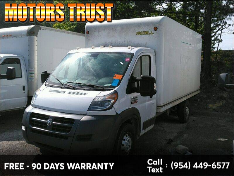 2017 RAM ProMaster Cutaway Chassis for sale in Miami, FL