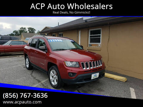 2016 Jeep Compass for sale at ACP Auto Wholesalers in Berlin NJ