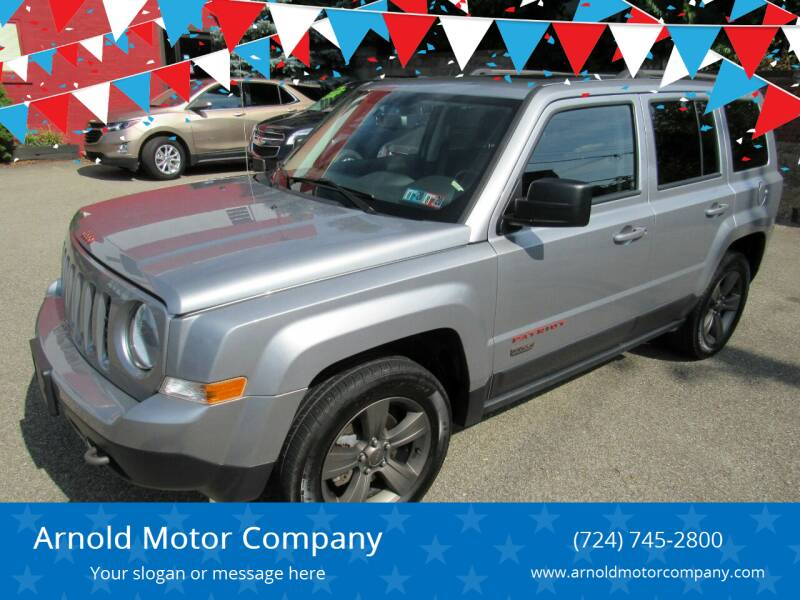 2017 Jeep Patriot for sale at Arnold Motor Company in Houston PA