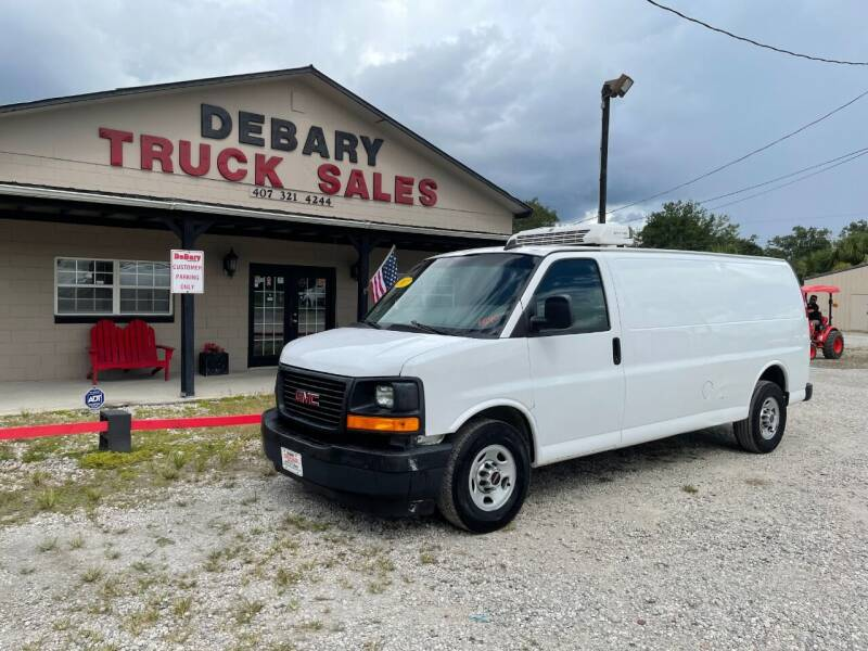 2017 GMC SAVANA G3500 REFRIGERATED for sale at DEBARY TRUCK SALES in Sanford FL