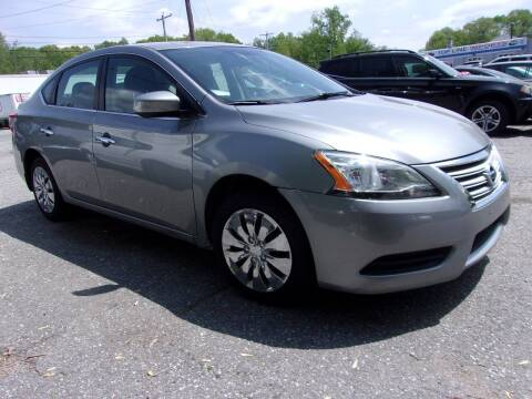 2014 Nissan Sentra for sale at Top Line Import of Methuen in Methuen MA