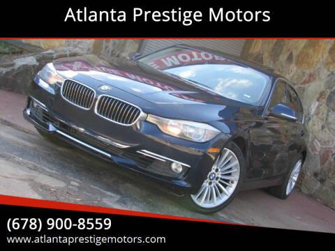 2012 BMW 3 Series for sale at Atlanta Prestige Motors in Decatur GA