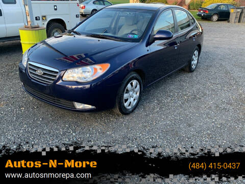 2008 Hyundai Elantra for sale at Autos-N-More in Gilbertsville PA