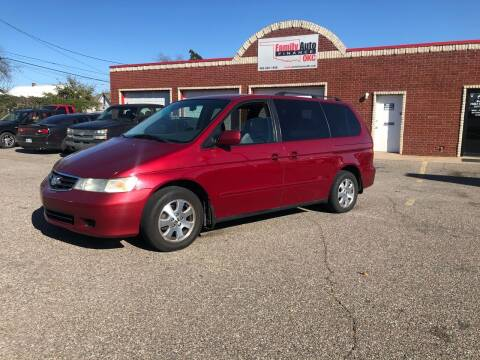 2003 Honda Odyssey for sale at Family Auto Finance OKC LLC in Oklahoma City OK