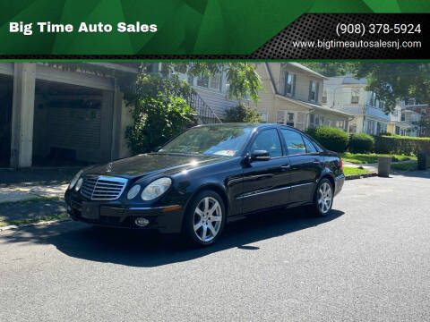 2007 Mercedes-Benz E-Class for sale at Big Time Auto Sales in Vauxhall NJ