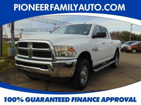 2014 RAM Ram Pickup 2500 for sale at Pioneer Family auto in Marietta OH