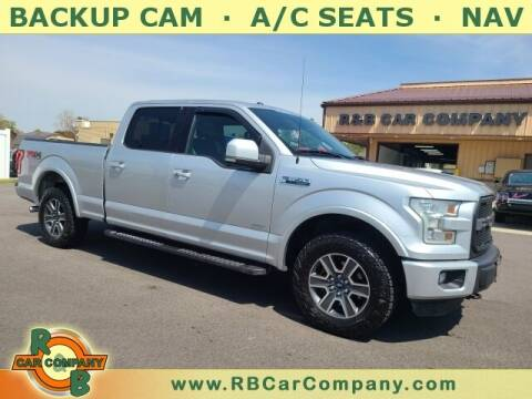 2015 Ford F-150 for sale at R & B Car Company in South Bend IN