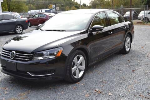 2012 Volkswagen Passat for sale at Victory Auto Sales in Randleman NC