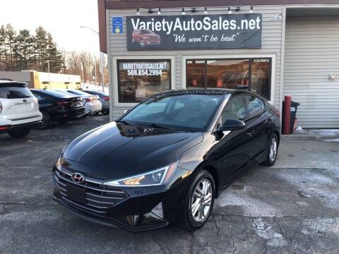 2020 Hyundai Elantra for sale at Variety Auto Sales in Worcester MA