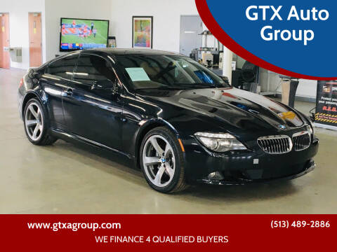 2010 BMW 6 Series for sale at GTX Auto Group in West Chester OH