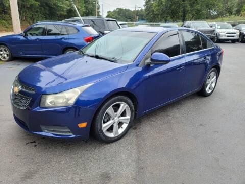 2012 Chevrolet Cruze for sale at GEORGIA AUTO DEALER, LLC in Buford GA
