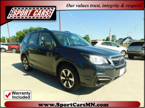 2017 Subaru Forester for sale at SPORT CARS in Norwood MN