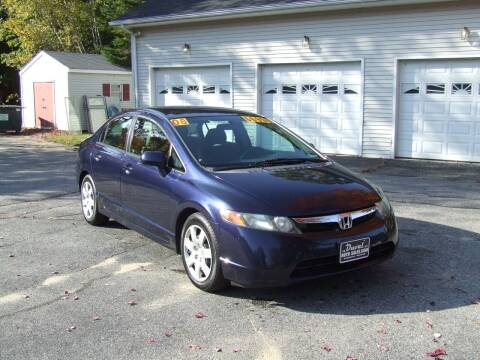 2008 Honda Civic for sale at DUVAL AUTO SALES in Turner ME