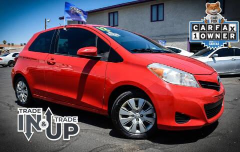 2012 Toyota Yaris for sale at Rahimi Automotive Group in Yuma AZ