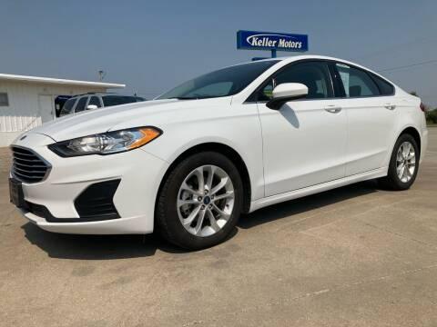 2020 Ford Fusion for sale at Keller Motors in Palco KS