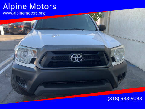 2014 Toyota Tacoma for sale at Alpine Motors in Van Nuys CA