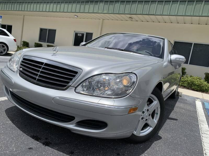 2005 Mercedes-Benz S-Class for sale at Fisher Motor Group LLC in Bradenton FL