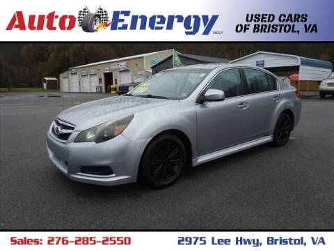 2012 Subaru Legacy for sale at Auto Energy-Bristol in Bristol VA