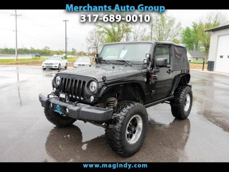 2016 Jeep Wrangler for sale in Cicero, IN