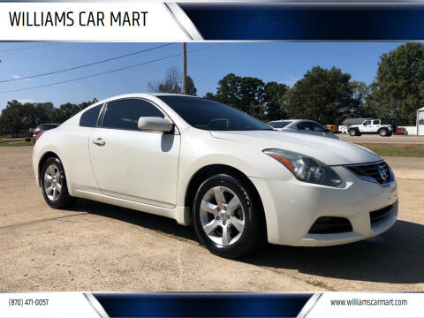 2013 Nissan Altima for sale at WILLIAMS CAR MART in Gassville AR