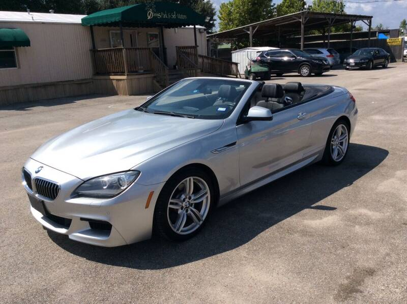 2013 BMW 6 Series for sale at OASIS PARK & SELL in Spring TX