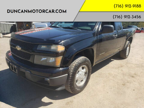 2005 Chevrolet Colorado for sale at DuncanMotorcar.com in Buffalo NY