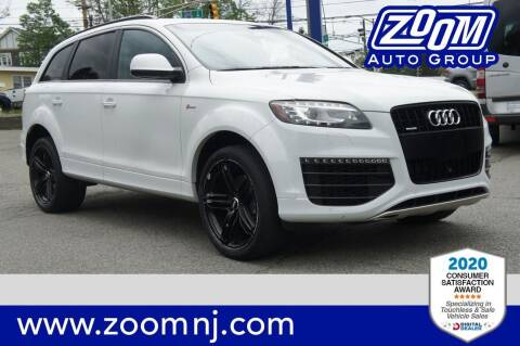 2015 Audi Q7 for sale at Zoom Auto Group in Parsippany NJ