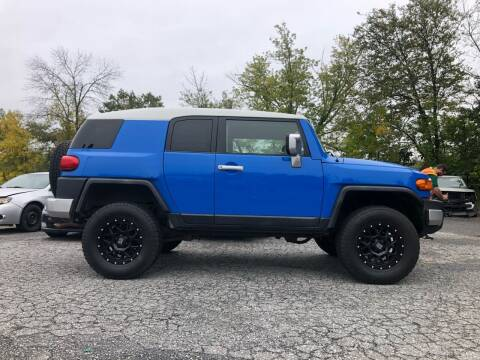 2007 Toyota FJ Cruiser for sale at Top Line Import of Methuen in Methuen MA