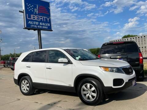 2012 Kia Sorento for sale at Liberty Auto Sales in Merrill IA