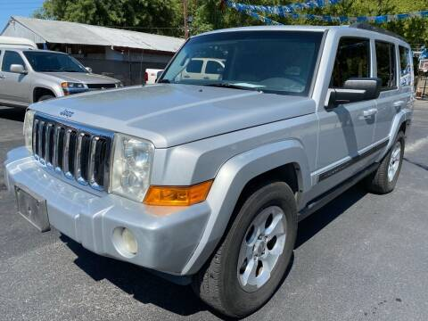 2008 Jeep Commander for sale at GTC Motors in San Antonio TX