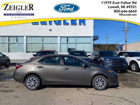 2019 Toyota Corolla for sale at Zeigler Ford of Plainwell- Jeff Bishop in Plainwell MI