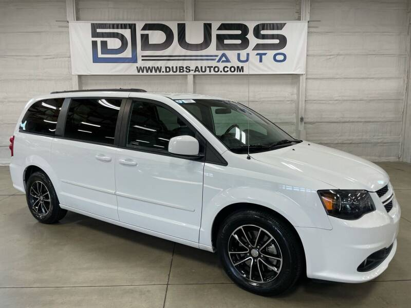 2016 Dodge Grand Caravan for sale at DUBS AUTO LLC in Clearfield UT