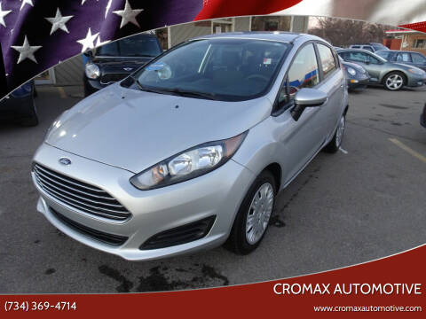 2016 Ford Fiesta for sale at Cromax Automotive in Ann Arbor MI
