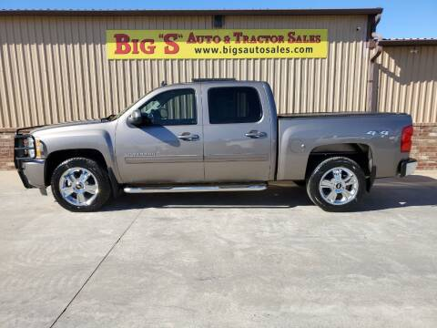 2012 Chevrolet Silverado 1500 for sale at BIG 'S' AUTO & TRACTOR SALES in Blanchard OK
