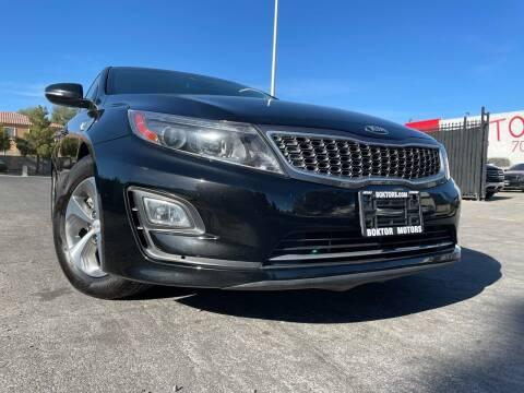 2015 Kia Optima Hybrid for sale at Boktor Motors in Las Vegas NV