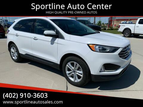 2020 Ford Edge for sale at Sportline Auto Center in Columbus NE