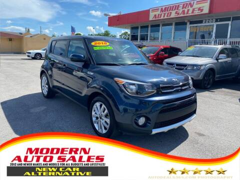 2018 Kia Soul for sale at Modern Auto Sales in Hollywood FL