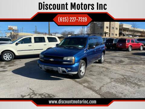 2005 Chevrolet TrailBlazer EXT for sale at Discount Motors Inc in Nashville TN