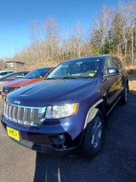 2012 Jeep Grand Cherokee for sale at Jeff's Sales & Service in Presque Isle ME