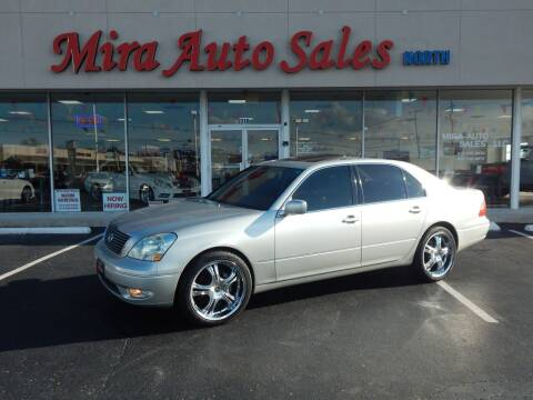 2001 Lexus LS 430 for sale at Mira Auto Sales in Dayton OH