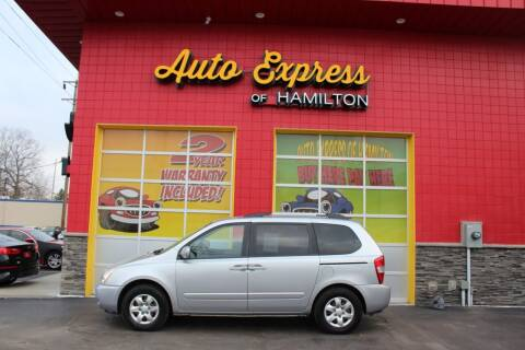 2010 Kia Sedona for sale at AUTO EXPRESS OF HAMILTON LLC in Hamilton OH